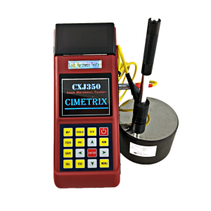 CXJ350 Portable Hardness Tester w/Printer